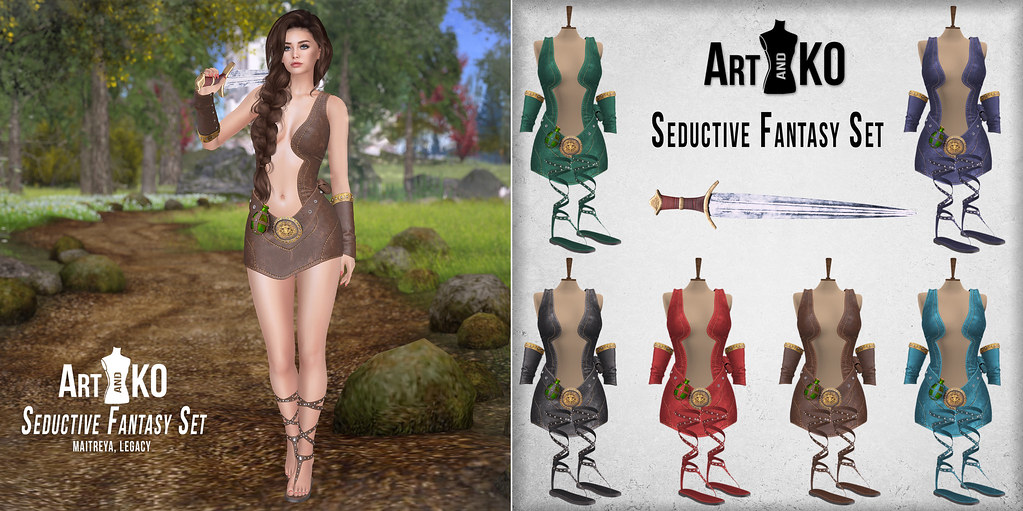 Art&Ko – Seductive Fantasy Set – Art&KO – Warrior set – WLRP