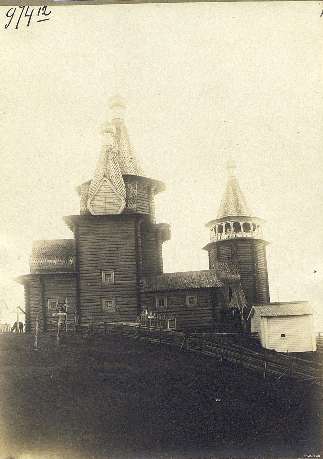 Церковь в селе Юрома начала XVIII века.