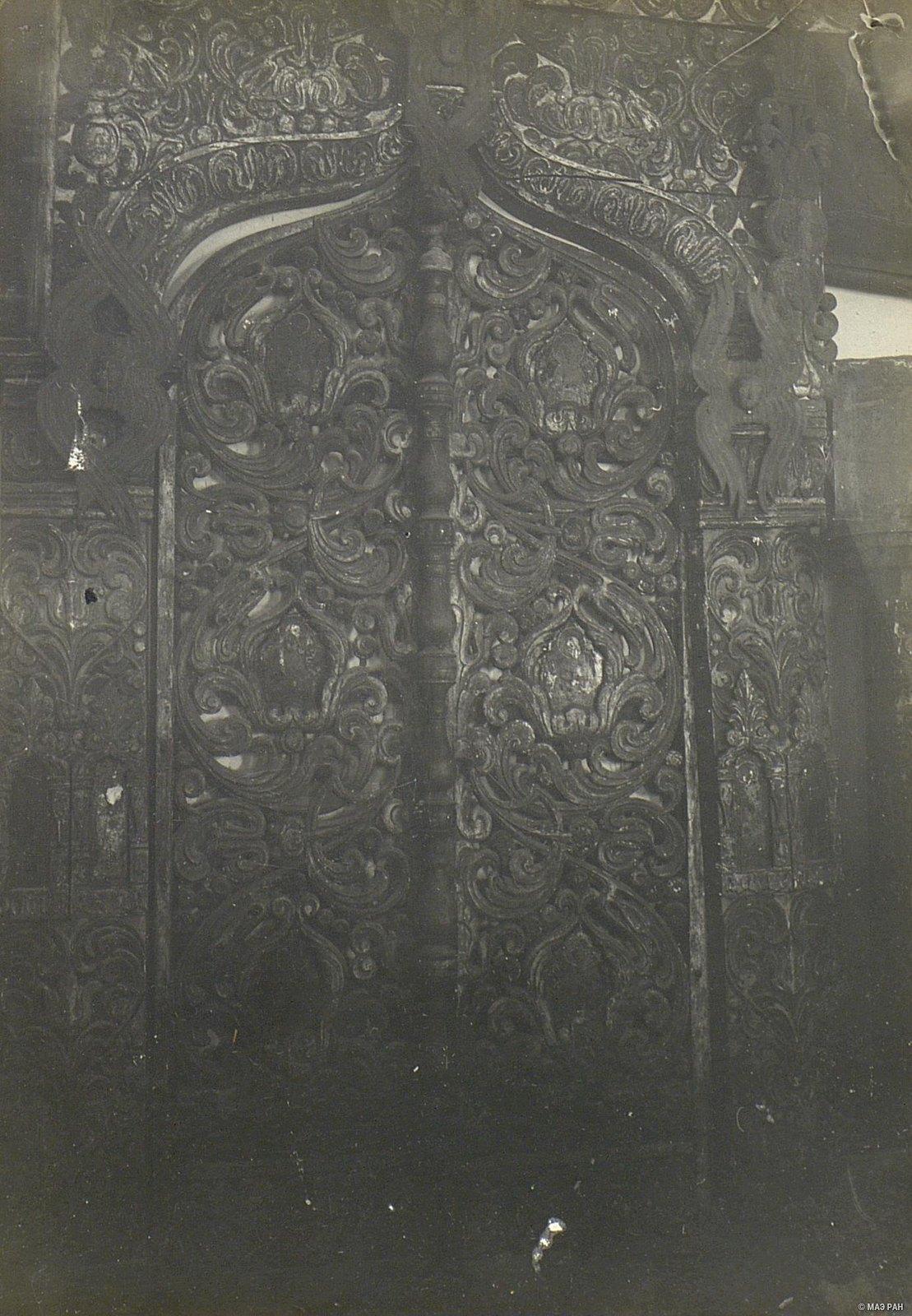 Царские врата XVII в.