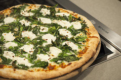 DSC_0138 Broccoli Rabe Ricotta Pizza