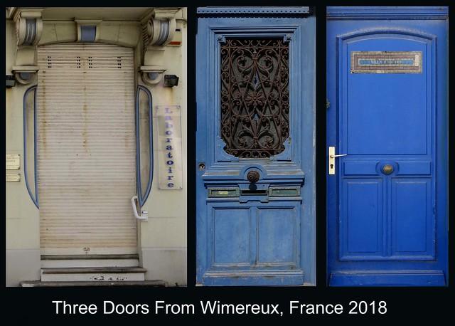 FRANCE 2018 - Doors (184, 185 & 195)