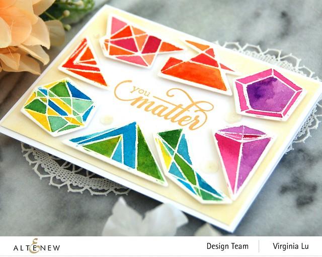 07112020-Geometric Elements Stamp & Die Set-ArtistWatercolor 24Pan Set-FancyGreetings#3