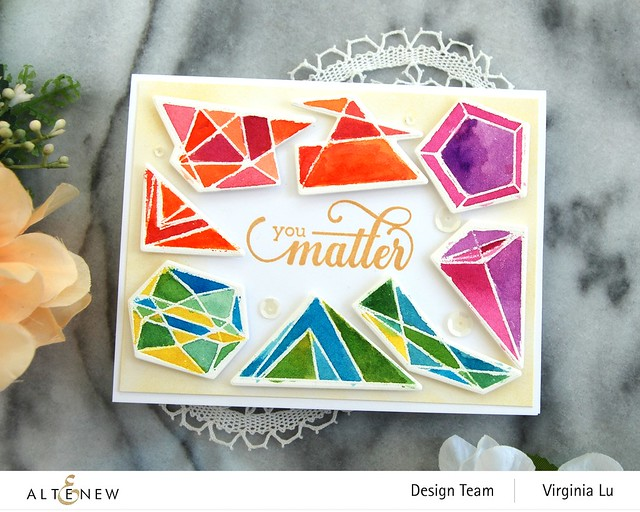 07112020-Geometric Elements Stamp & Die Set-ArtistWatercolor 24Pan Set-FancyGreetings#2