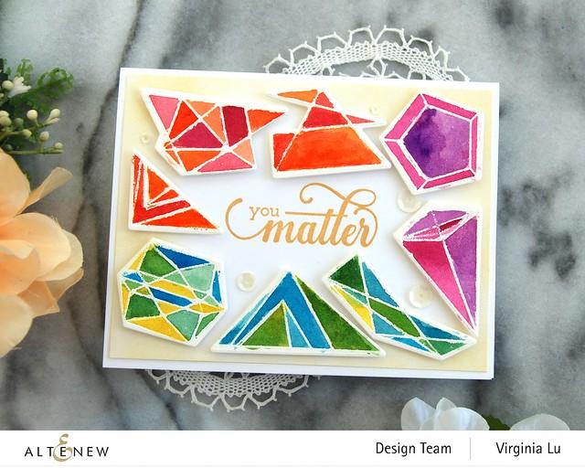 07112020-Geometric Elements Stamp & Die Set-ArtistWatercolor 24Pan Set-FancyGreetings#2