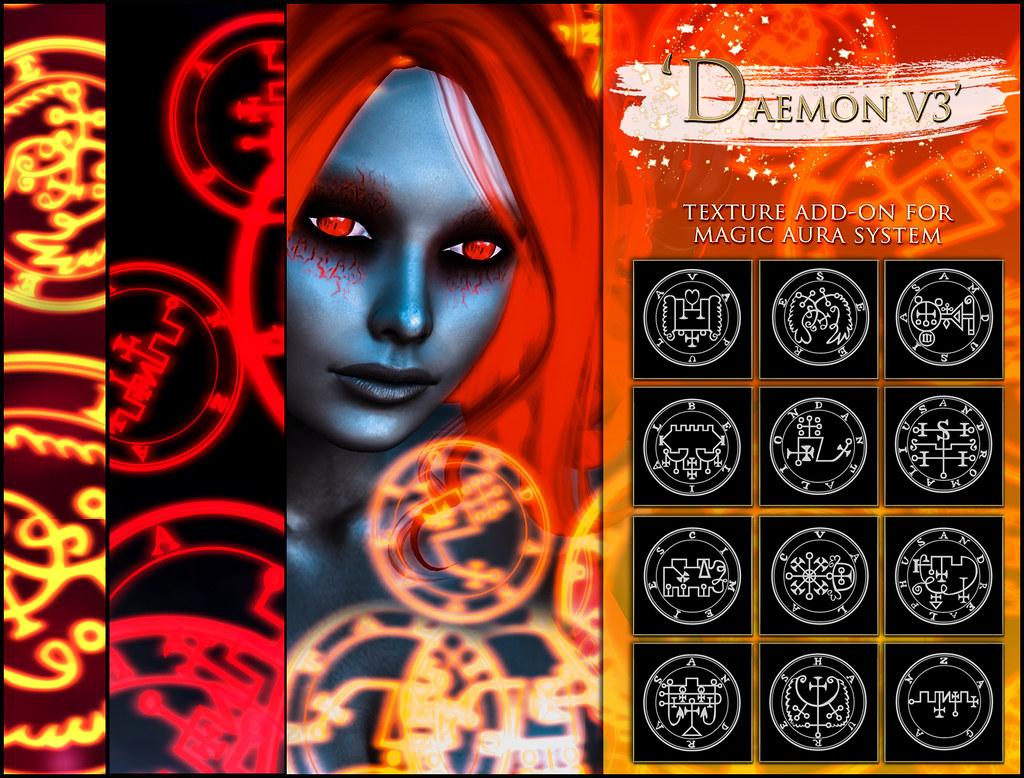 -Elemental' 'Daemon V3' Texture Addon For Magical Aura
