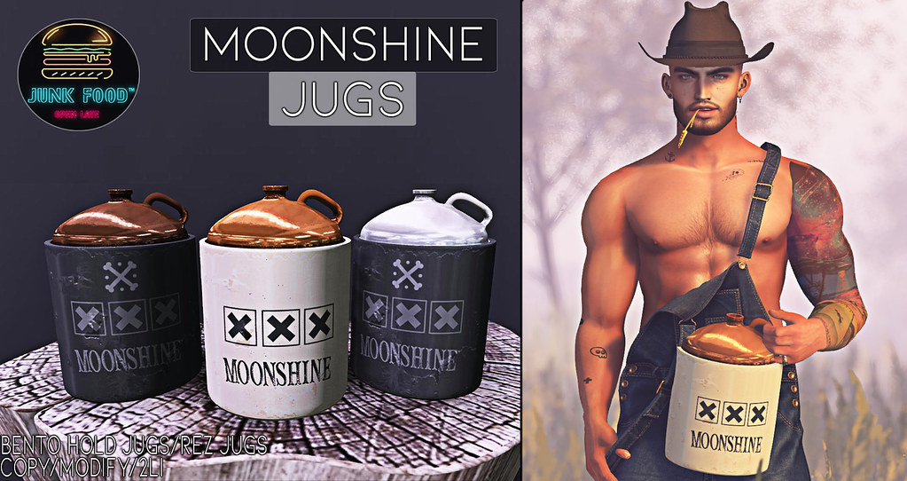 Junk Food - Moonshine Jugs Ad
