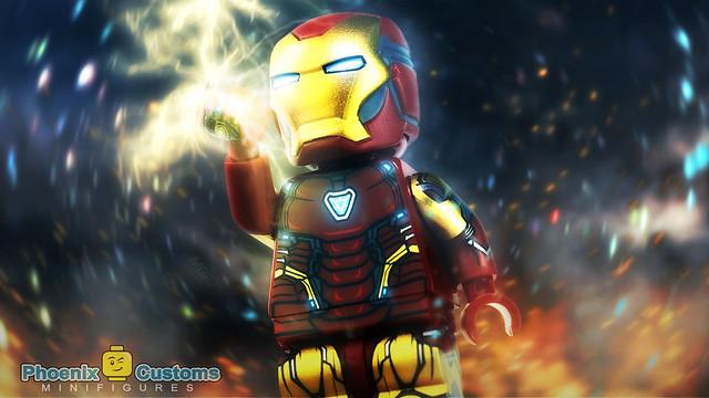 Phoenix Custom Bricks - Ultimate Armor (Iron Man MK 85)
