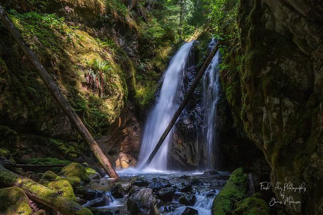 Karst Falls, Strathcona Park, BC