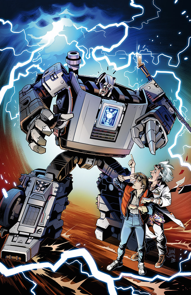 可以穿梭時空的機器人?! 孩之寶《回到未來》×《變形金剛》35週年紀念作「Gigawatt」情報公開!【首波 Walmart 限定】