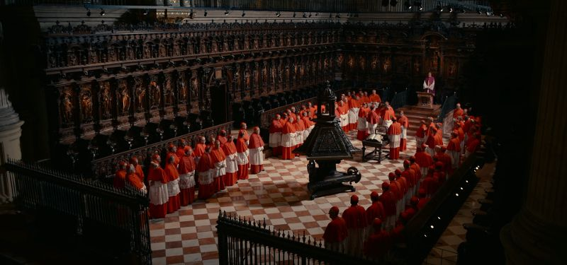 Malaga Cathedral and the cardinals