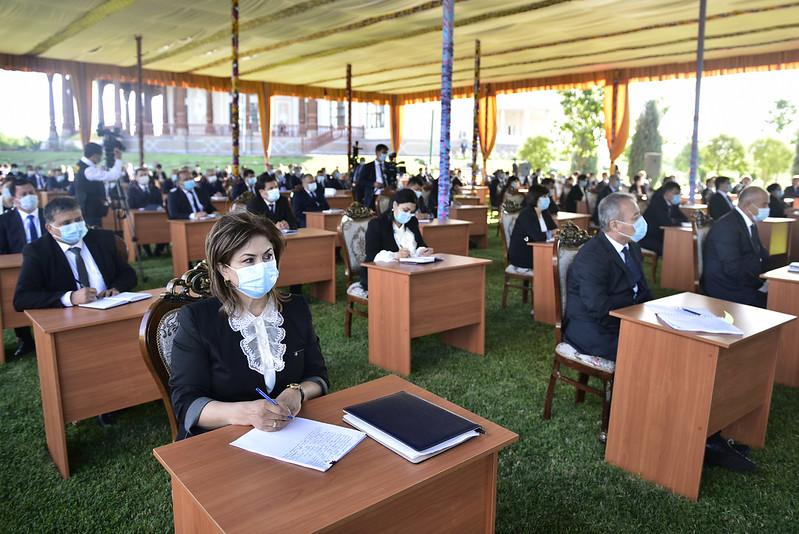 Мулоқот бо роҳбарон ва фаъолони вилояти Суғд  03.07.2020