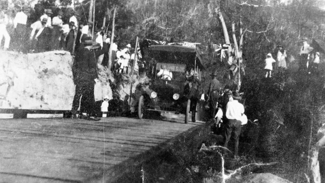 Official opening of Barron River Bridge (approx. 1920s-1940s)
