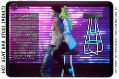 {ID} Hot Seat Bar Stool @ Forbidden Fridays