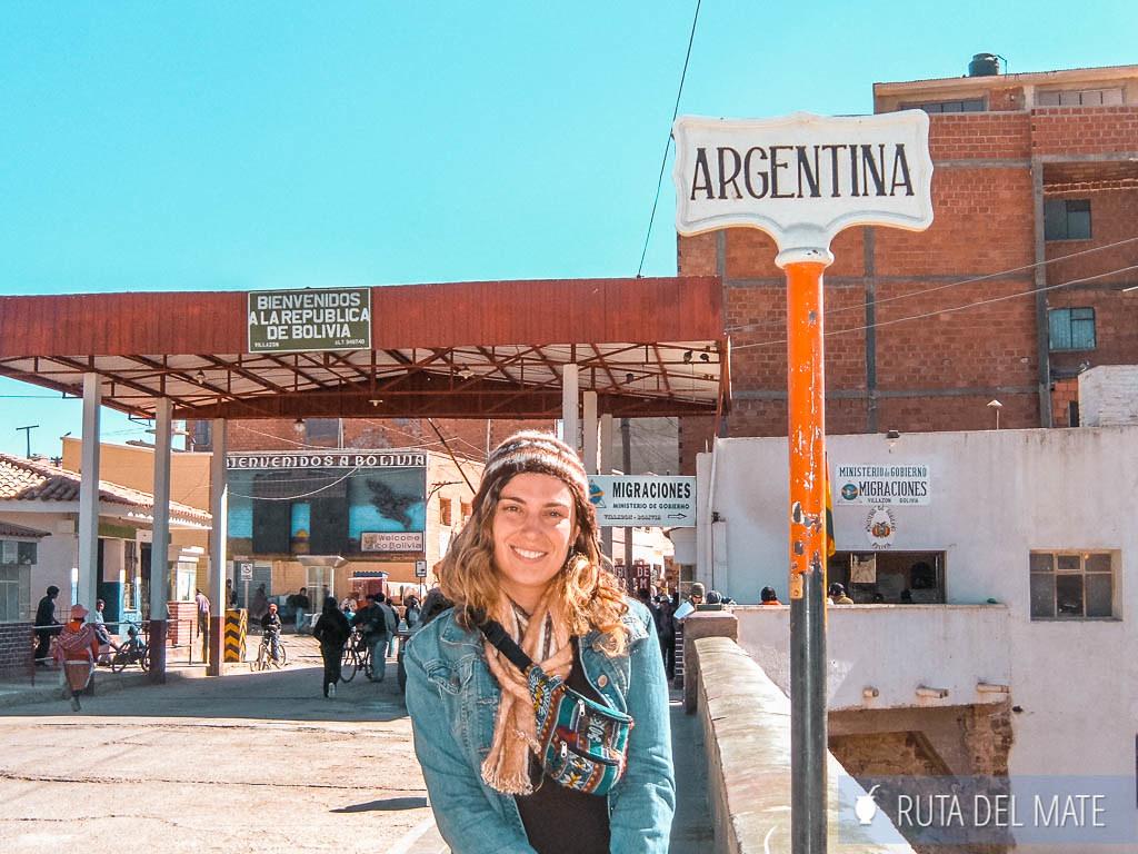 Frontera Argentina-Bolivia