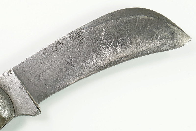 RD30403 Antique IXL George Wostenholm Sheffield England Hawk Bill Prunning Knife Rosewood Handle DSC08691