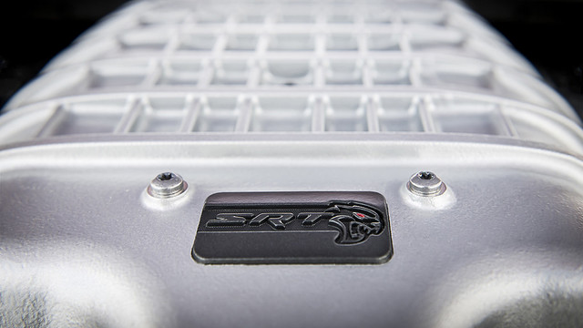 2020 Dodge Challenger SRT Super Stock: Powered by the same supercharged 6.2-liter HEMI® high-output V-8 that powers the SRT Hellcat Redeye, the SRT Super Stock features a revised powertrain calibration that increases power output to 807 horsepo