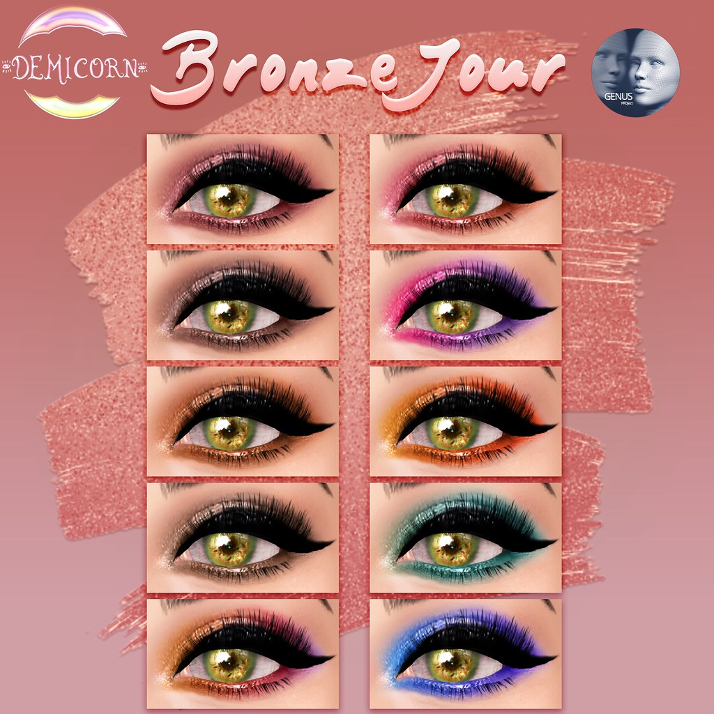 {Demicorn} BronzeJour Eyeshadows Genus Ad