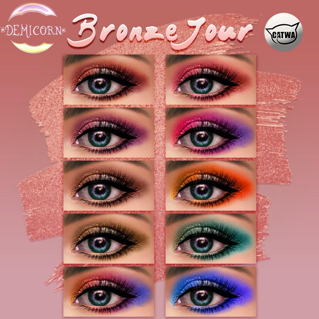{Demicorn} BronzeJour Eyeshadows Catwa Ad