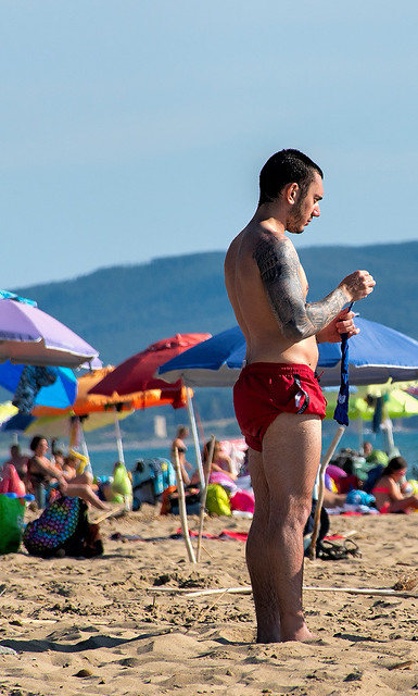 tipi da spiaggia  //  beach types