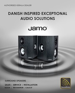 Submerge in an array of classy surround sound speakers that are visually appealing and gift yourself lifelike acoustics.