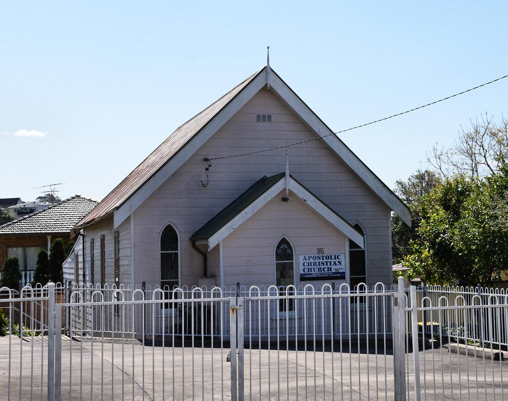 Apostolic Christian Church, Arncliffe, Sydney, NSW.