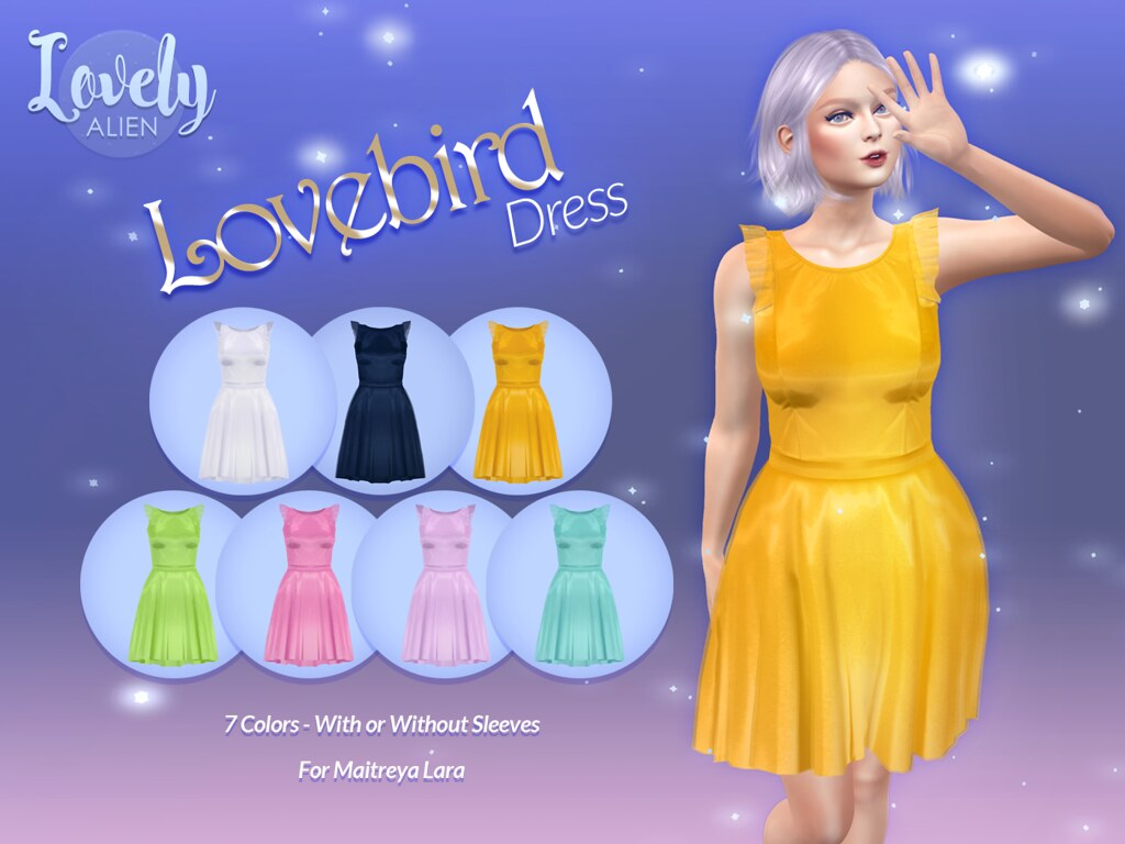"Lovebird Dress For: TLC's July 2020 Round of ""POP!"""