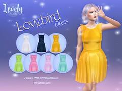 "Lovebird Dress For: TLC's July 2020 Round of ""POP!"""