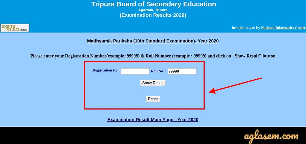 TBSE Madhyamik result 2020