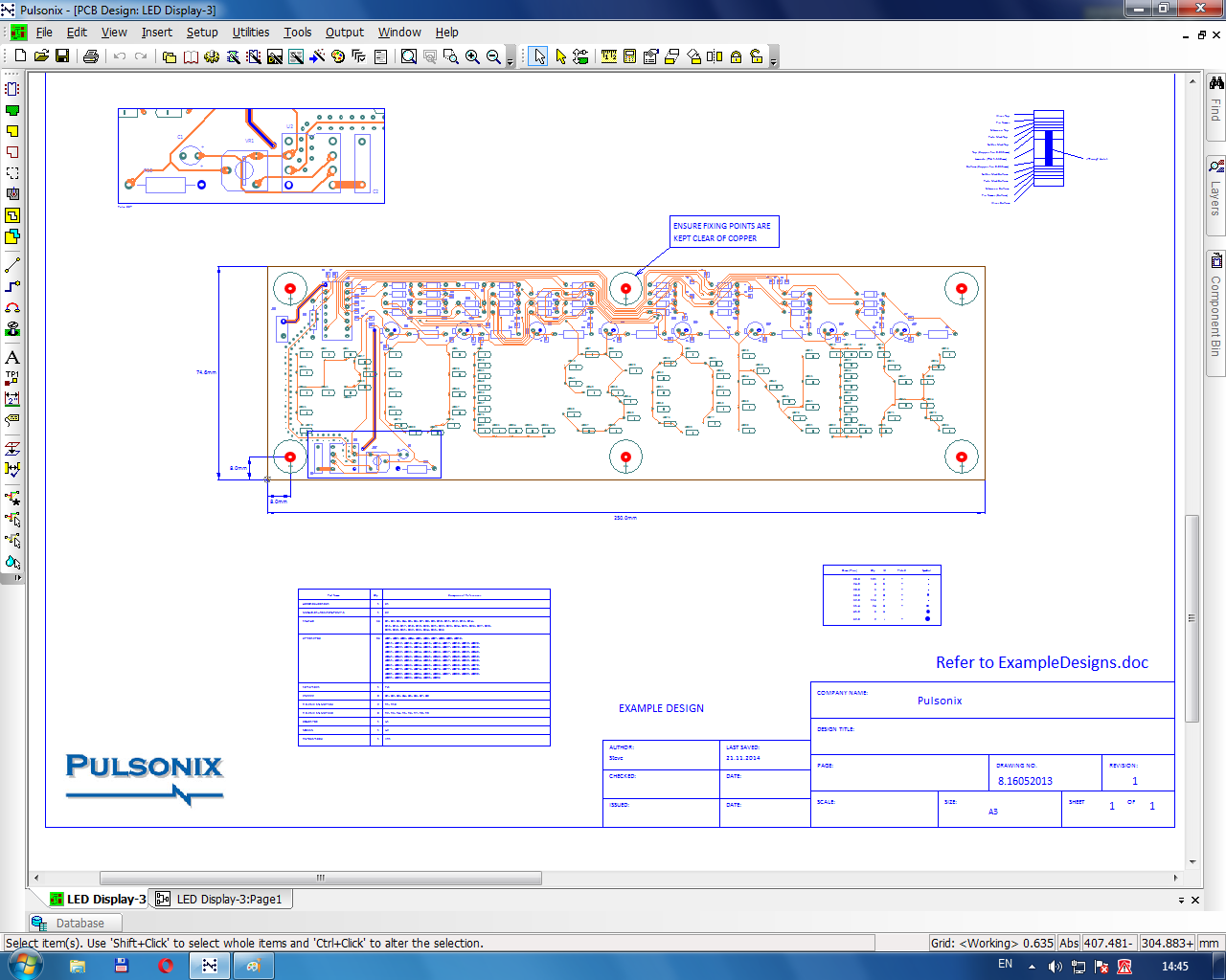 Working with Pulsonix 8.5 Build 5905 full license