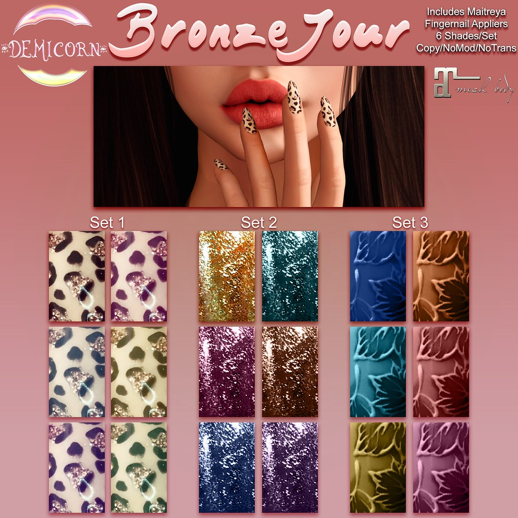 {Demicorn} BronzeJour Nails AD