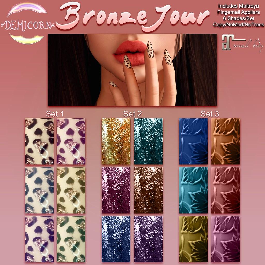 {Demicorn} BronzeJour Nails AD