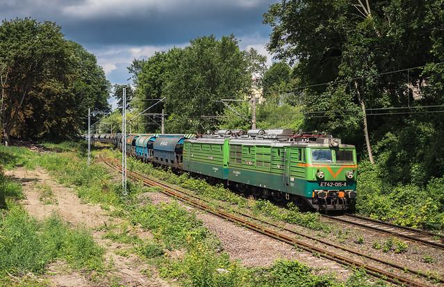 ET42-015 und Getreide | Szczecin Niebuszewo [PL]