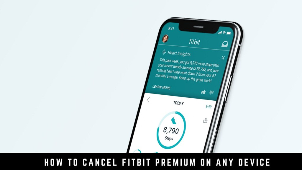 How to cancel Fitbit Premium on any device