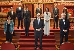 02/07/2020 - Acto de toma de posesión de rector, vicerrectoras y vicerrectores y designación de miembro del Consejo de Dirección