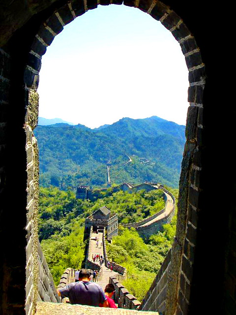 HFF! Striking view of The Great Wall of China