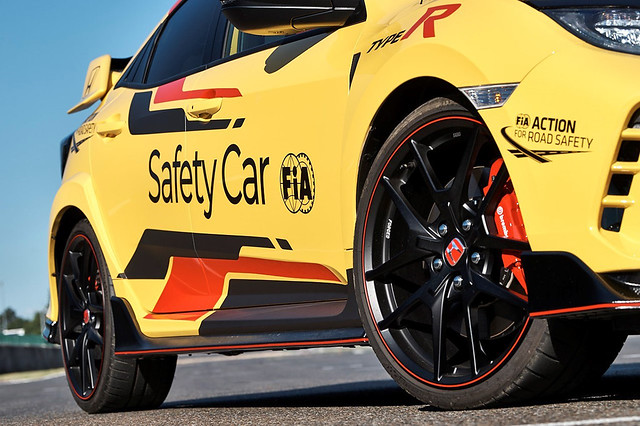 Honda Civic Type R Limited Edition is the 2020 WTCR Official Safety Car