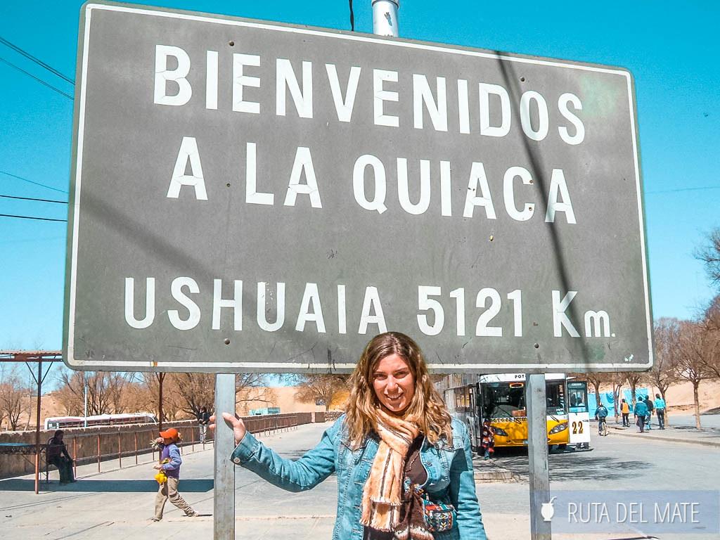 Cartel de la Quiaca, que hacer en Jujuy