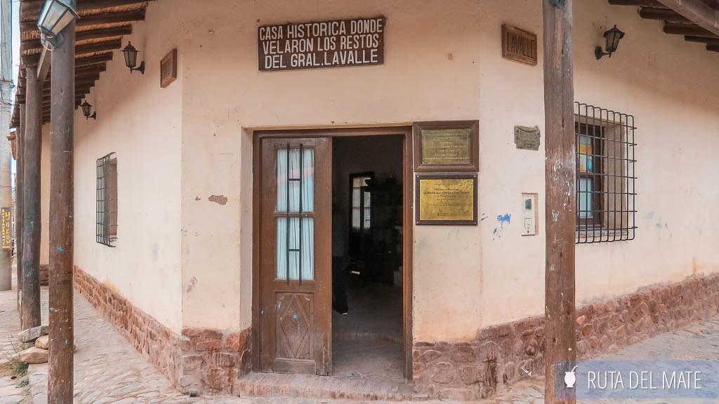 Casa Histórica General Lavalle Tilcara