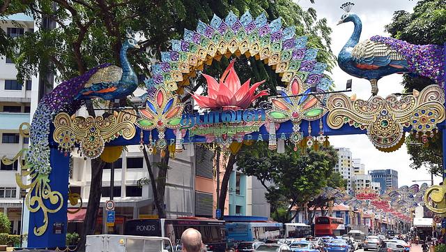 Diwali Street decor, Little India, Singapore