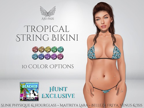 [Ari-Pari] Tropical String Bikini