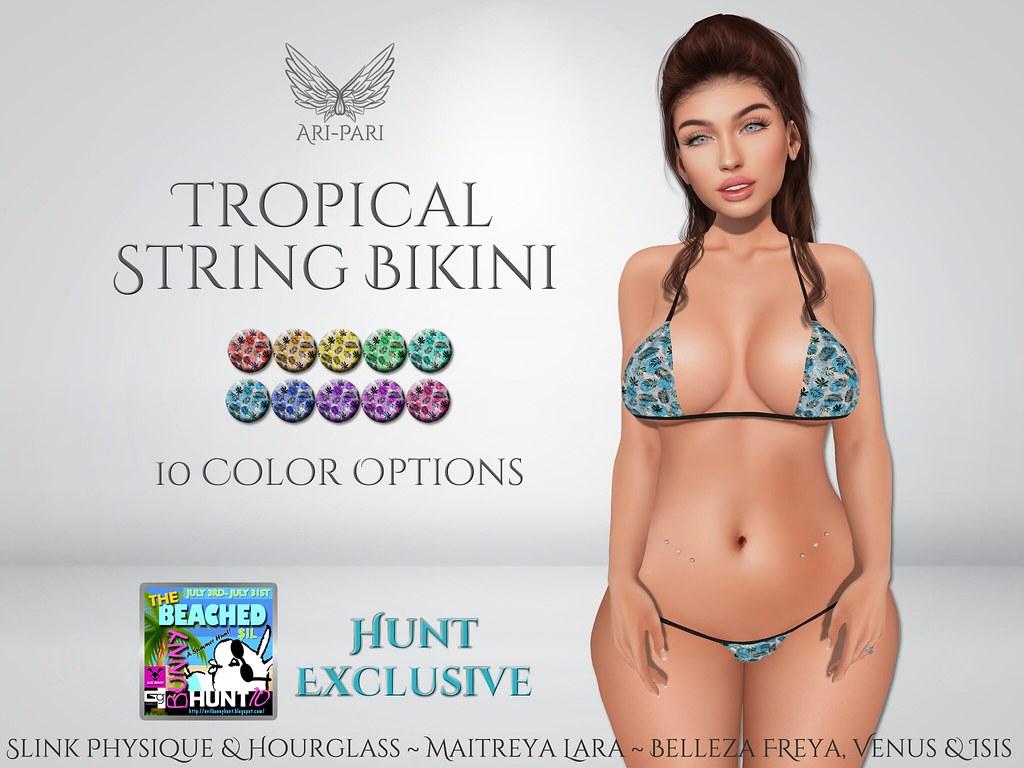 [Ari-Pari] Tropical String Bikini