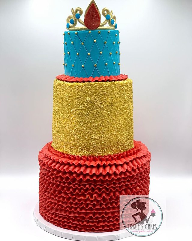 Cake by Trixie's Cakes