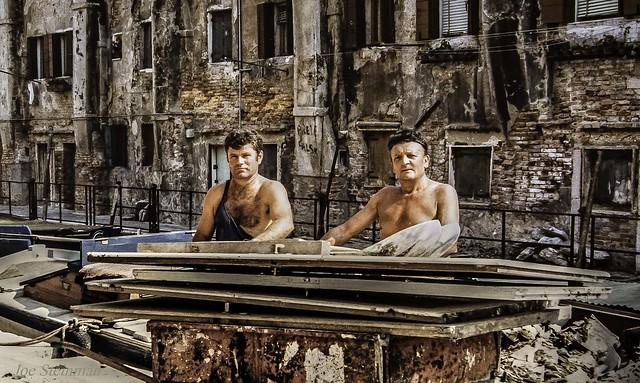 Lavoratori Nella Vecchia Venezia, Italia