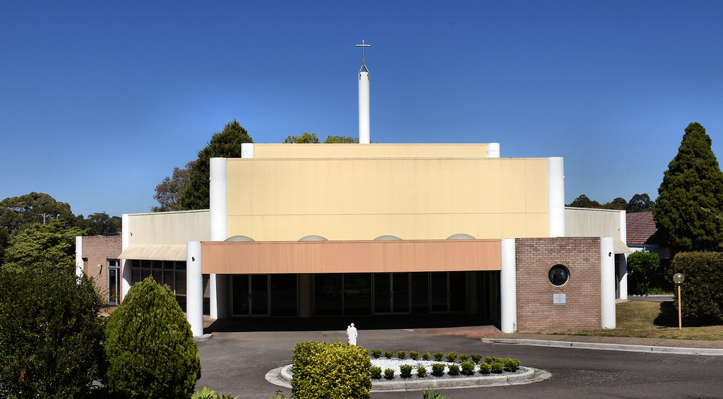 Our Lady of the Way Catholic Church, Sylvania, Sydney, NSW.