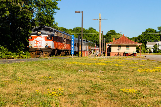 Dinner Train at W. Barnstable