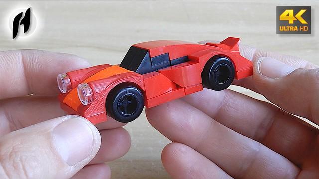 Porsche - Lego plus custom 3D printed parts.