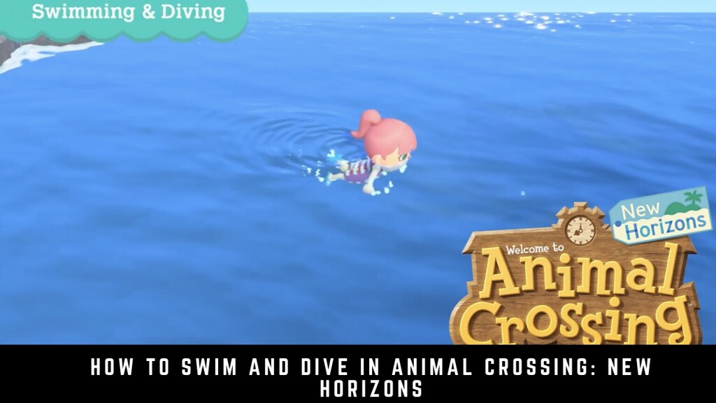 How to Swim and Dive in Animal Crossing: New Horizons