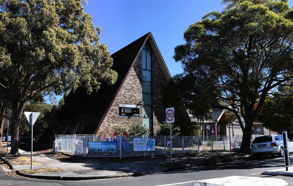 St Paul's Anglican Church, Oatley, Sydney, NSW.