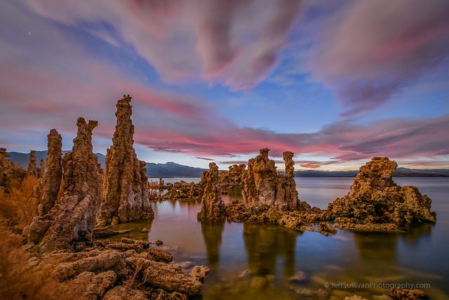 Late Twilight at Mono Lake