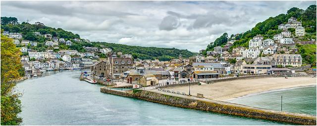 High Season - Looe, Cornwall.